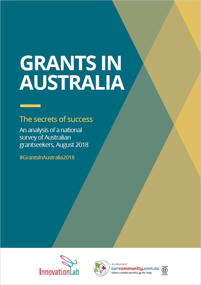 Grants in Australia survey 2018