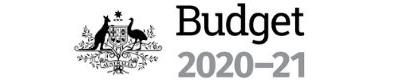 Federal Budget 2020 logo