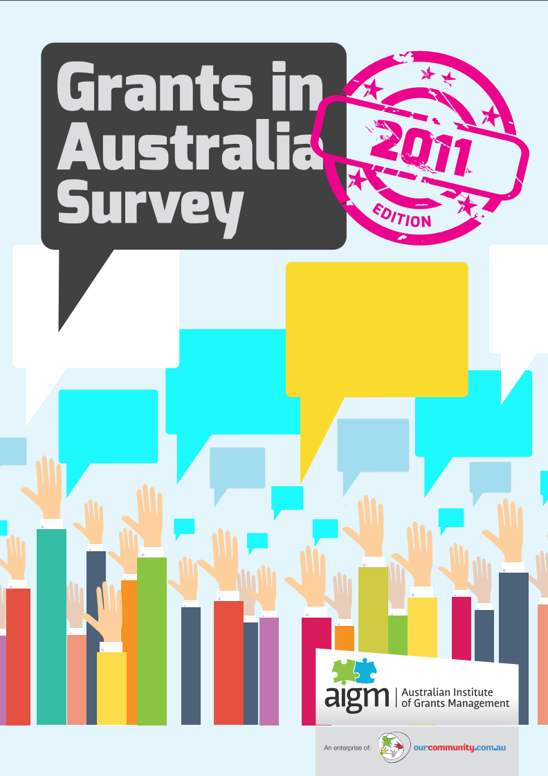 Grants in Australia 2011 survey