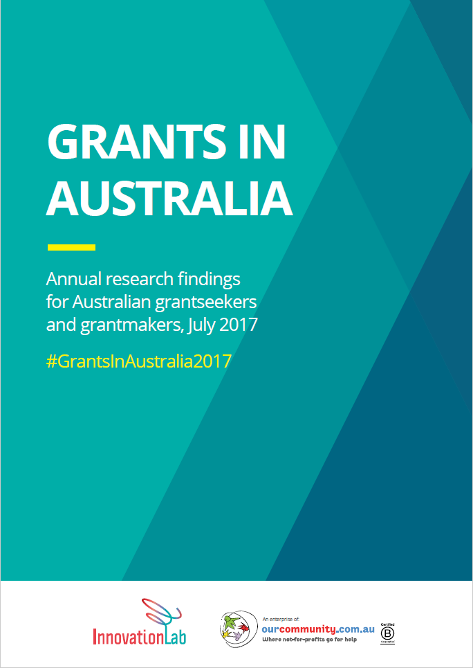 Grants in Australia survey 2017