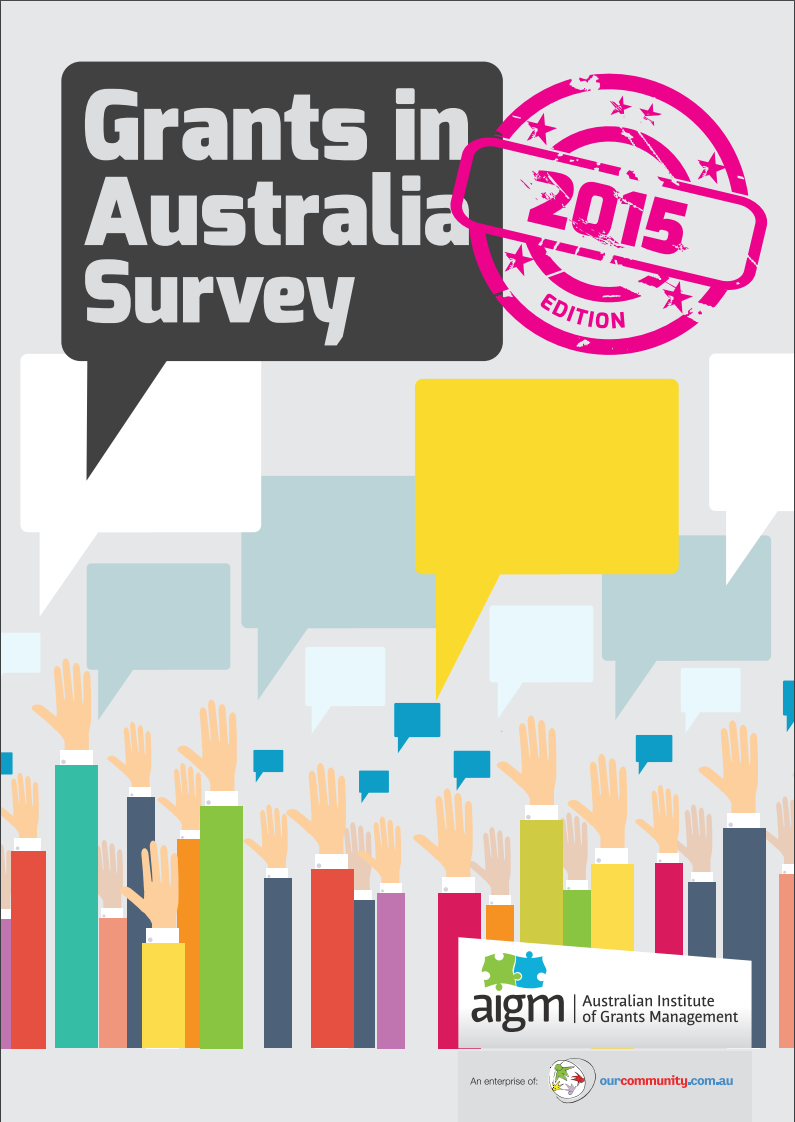Grants in Australia 2015 survey