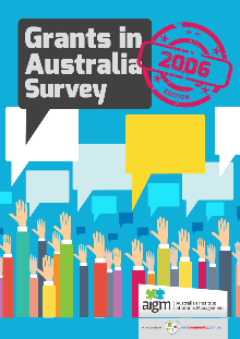 Grants in Australia survey 2006