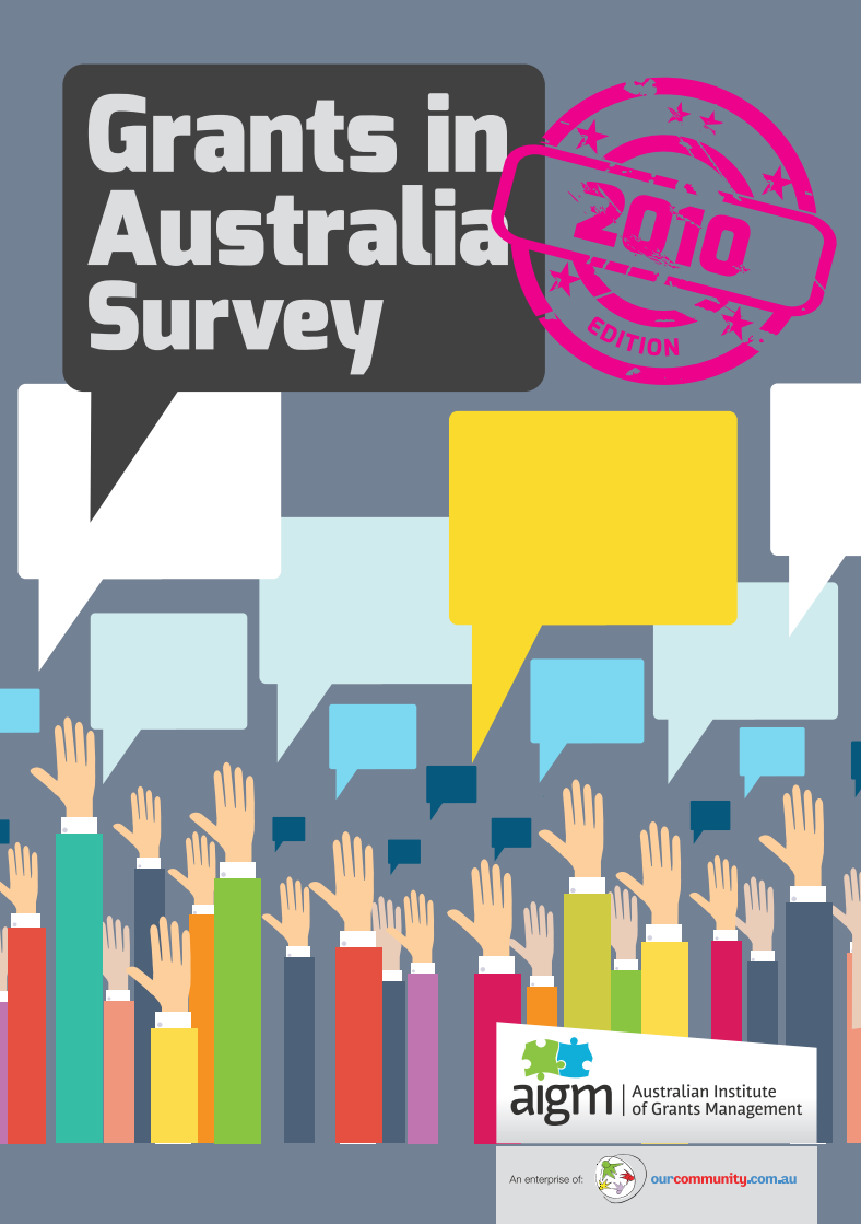 Grants in Australia 2010 survey