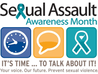 Sexual Assault Awareness Month - 1-30 April