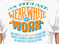 Wear White at Work - 29 May