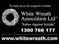 White Wreath Day - In Remembrance of All Victims of Suicide f97e5cb4b