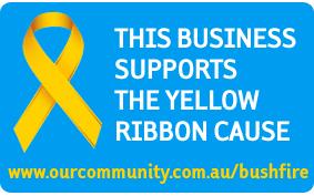 Bushfire Yellow Ribbon Images - ourcommunity com au
