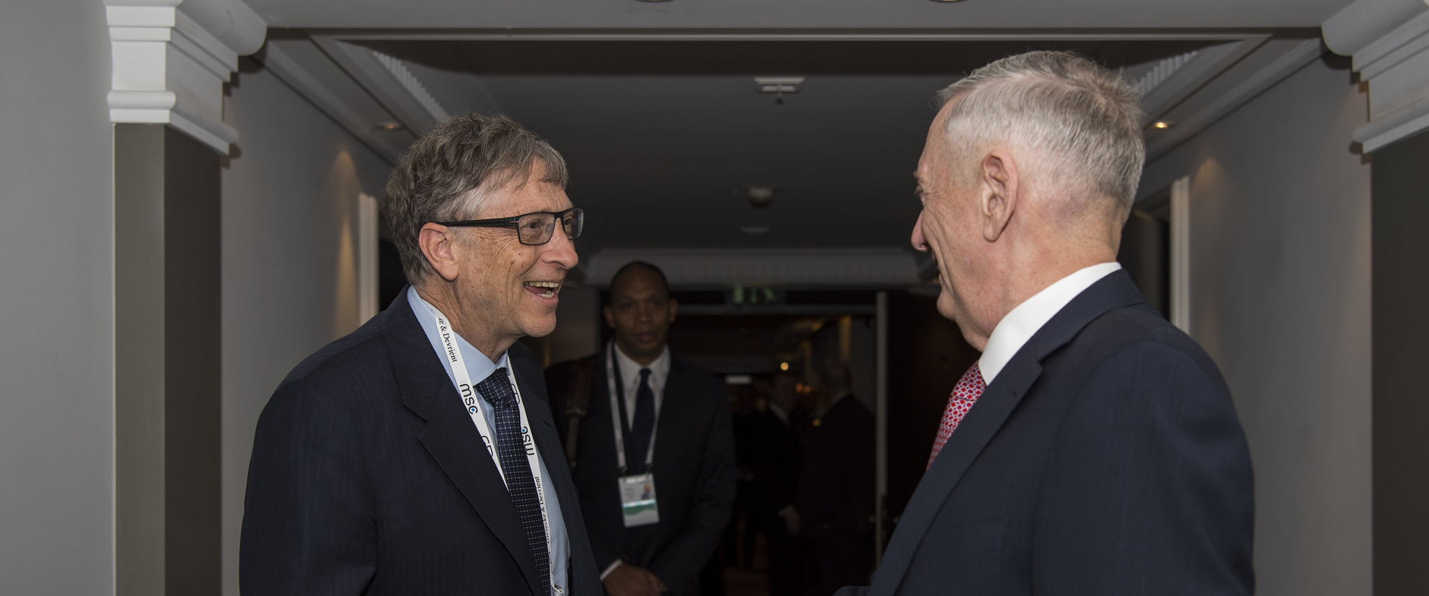 Bill Gates and Jim Mattis