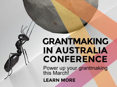 Grantmaking in Australia Conference 2017