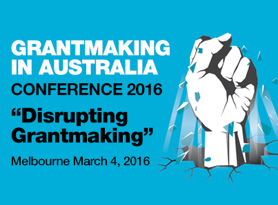 Grantmaking in Australia Conference
