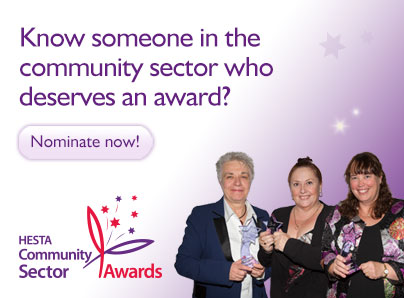 Hesta Community Sector Awards