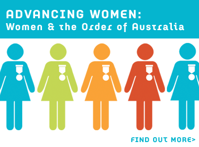 Advancing Women: Women and the Order of Australia