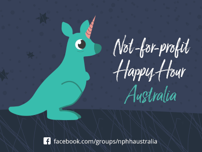 Find the Not-for-profit Happy Hour on Facebook