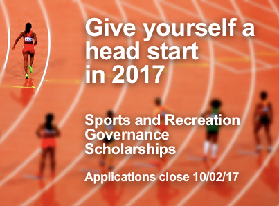 Sports and Recreation Governance Scholarships