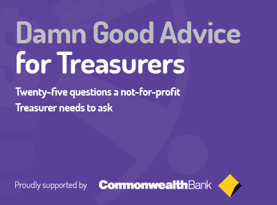 Damn Good Advice for Treasurers