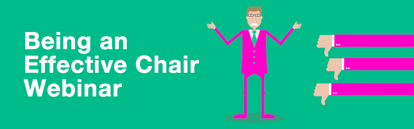 Be an effective Chair!